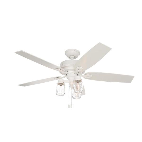 Indoor Fresh White Ceiling Fan 53361