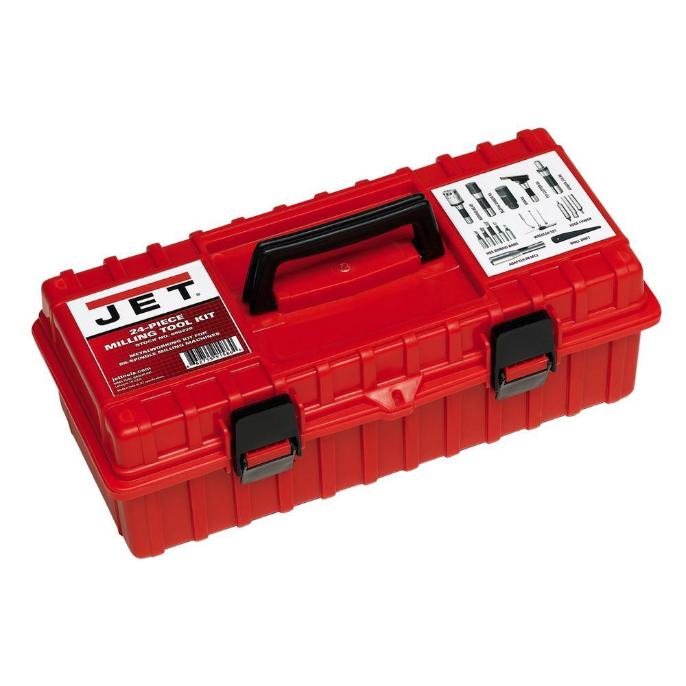 R8 Milling Tool Kit (24-Piece)