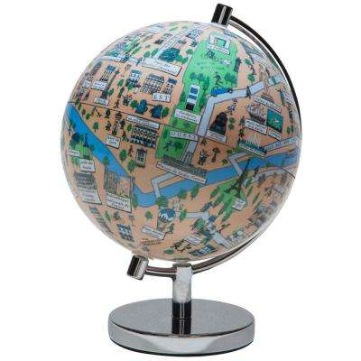 Paris 4 in. Globe