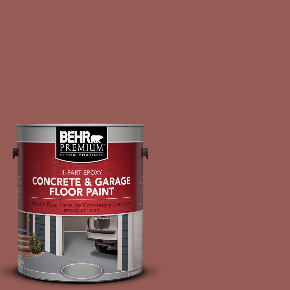 1 gal. #ECC-34-3 Terra Cotta Sun 1-Part Epoxy Concrete and Garage Floor Paint