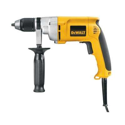 7.8 Amp 1/2 in. 0-600 RPM Variable Speed Reversing Drill with Keyless Chuck