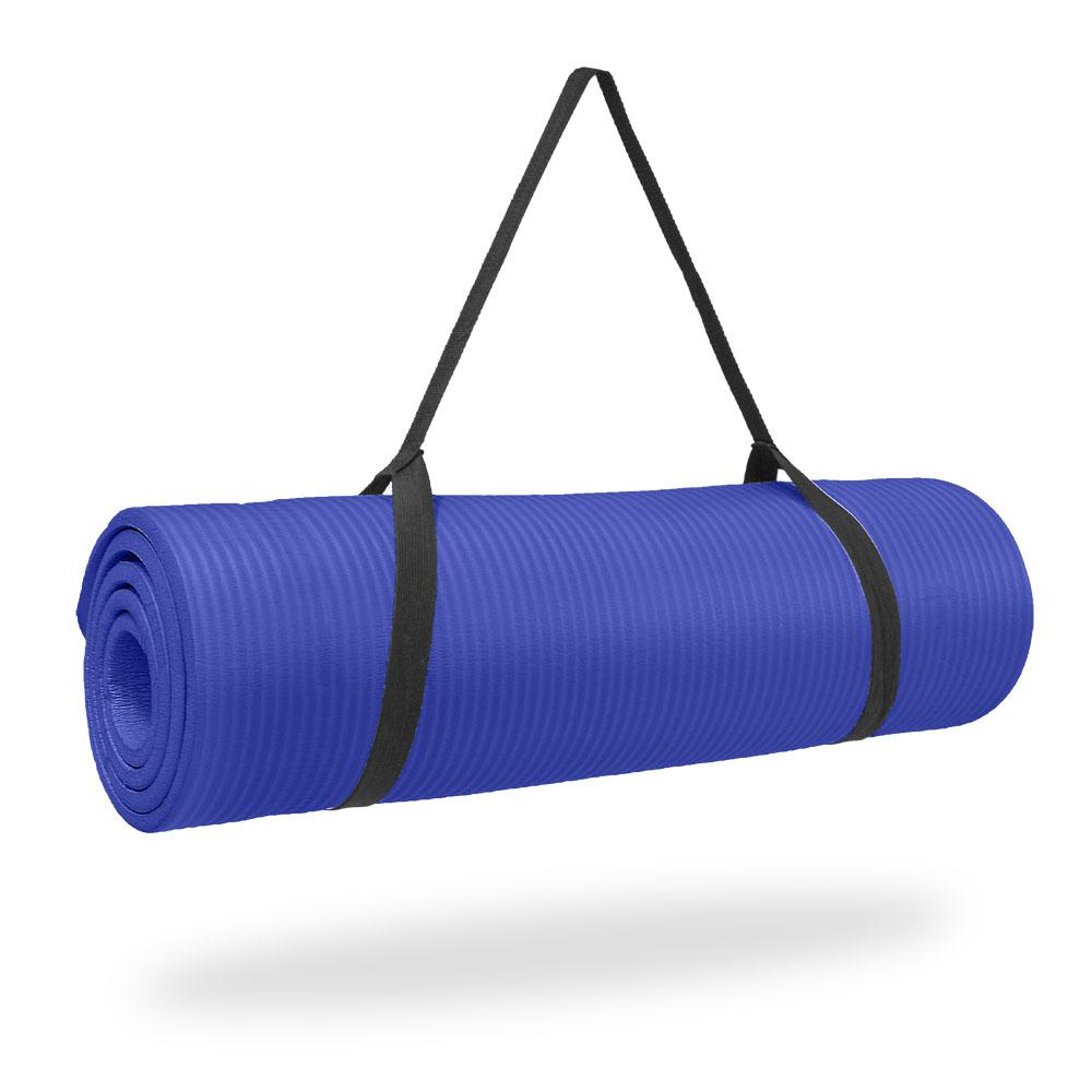 Pure Fitness Deluxe 12 Mm Iris Exercise Mat-8624FMB