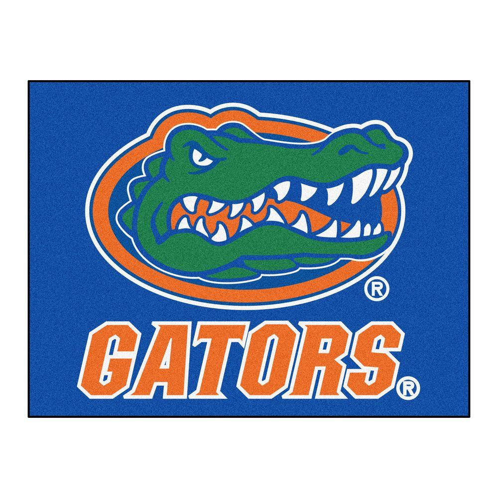 FANMATS NCAA University Of Florida Blue 2 Ft. 10 In. X 3