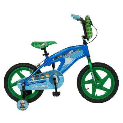 Trouble-Maker Kid's Bike, 16 in. Wheels, 11 in. Frame, Boy's Bike in Blue