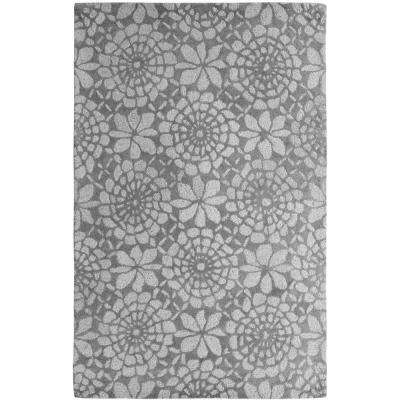 Palace Ivory/Grey 4 ft. x 6 ft. Indoor Area Rug