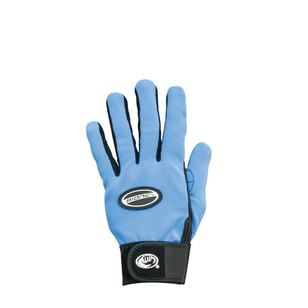 Bionic Glove Blooms Gardening Glove Women's Light Blue Medium-DISCONTINUED