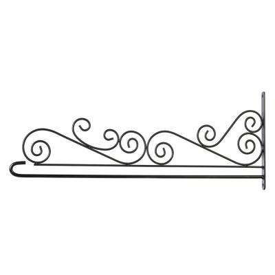 House Flag Scroll Bracket