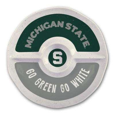 Michigan State 15 in. Chip and Dip Server