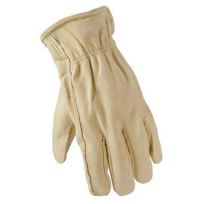 Medium Full Grain Leather Gloves (6-Pair)