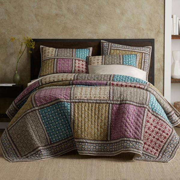 The Company Store Addison Cotton King Quilt 50290Q-K-MULTI