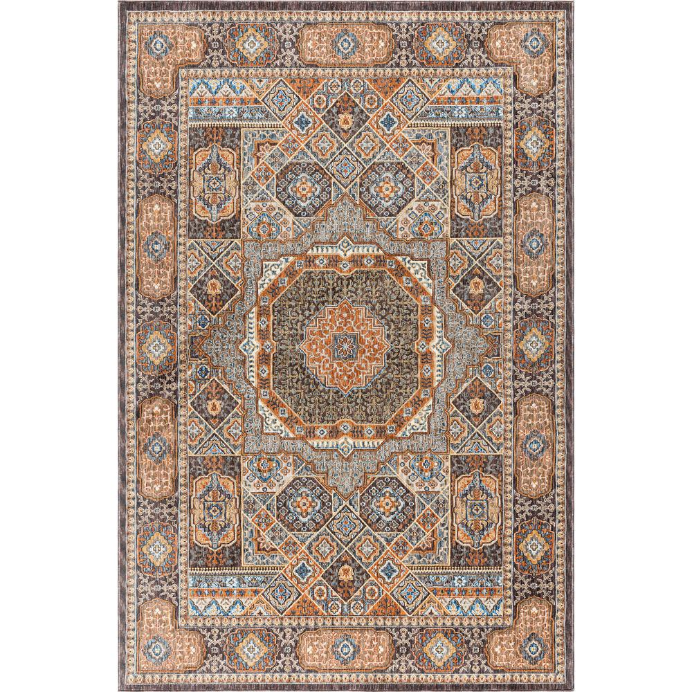 7x10 Rug: Tayse Rugs Fairview Multi 6 Ft. 7 In. X 9 Ft. 6 In. Area
