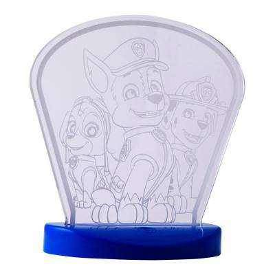 Paw Patrol Color Changing USB Acrylic Table Top LED Night Light