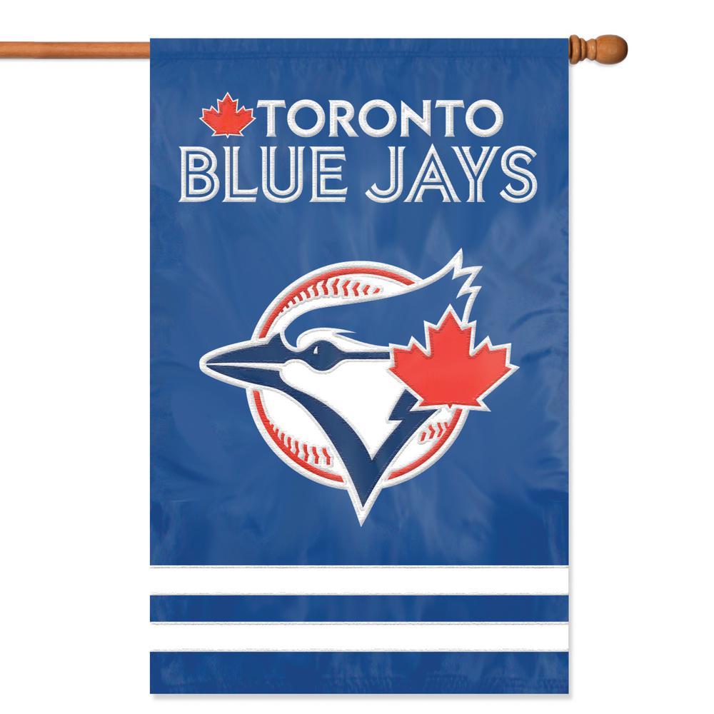 Toronto Blue Jays Applique Banner Flag