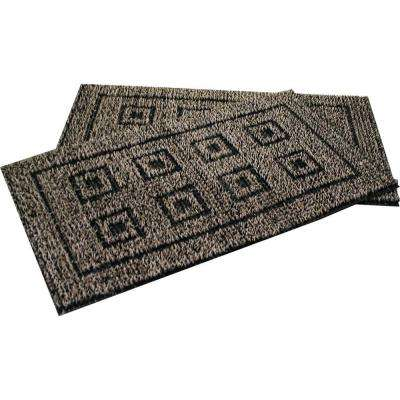 Flair Black Forest 20 in. x 36 in. AstroTurf Door Mat (2-Pack)