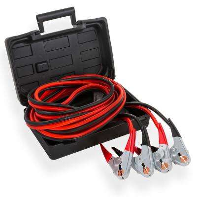 Heavy-Duty 25 ft. 2-Gauge Battery Booster Jumper Cables