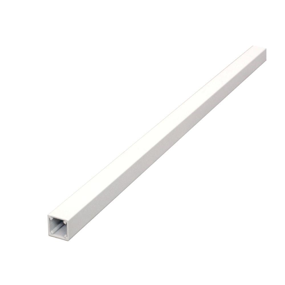 Pro 35-1/2 in. x 3/4 in. White Aluminum Square Stair Balu...