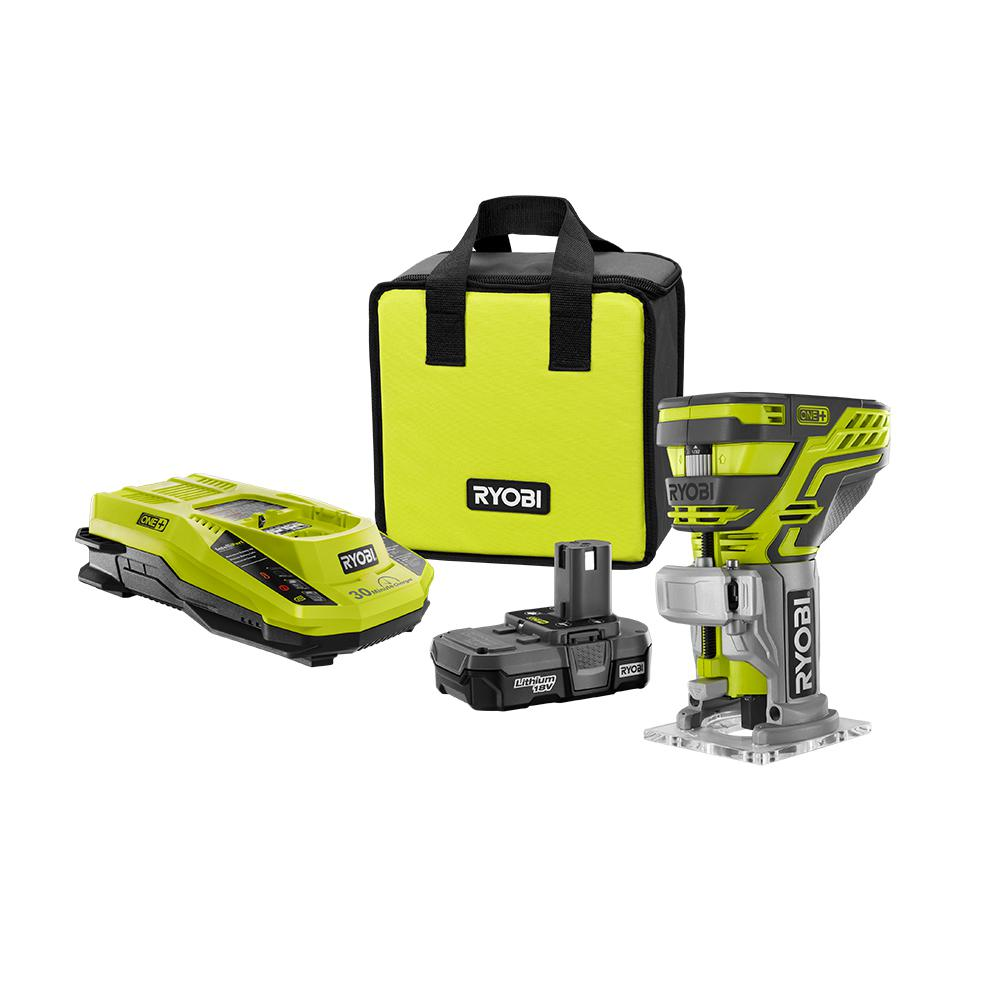 Cordless Routers Woodworking Tools The Home Depot
