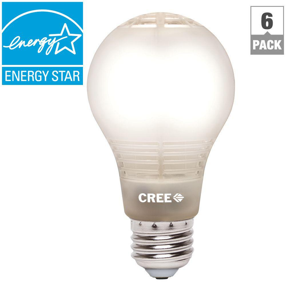 Cree 100W Equivalent Daylight (5000K) A21 Dimmable LED Light Bulb ...