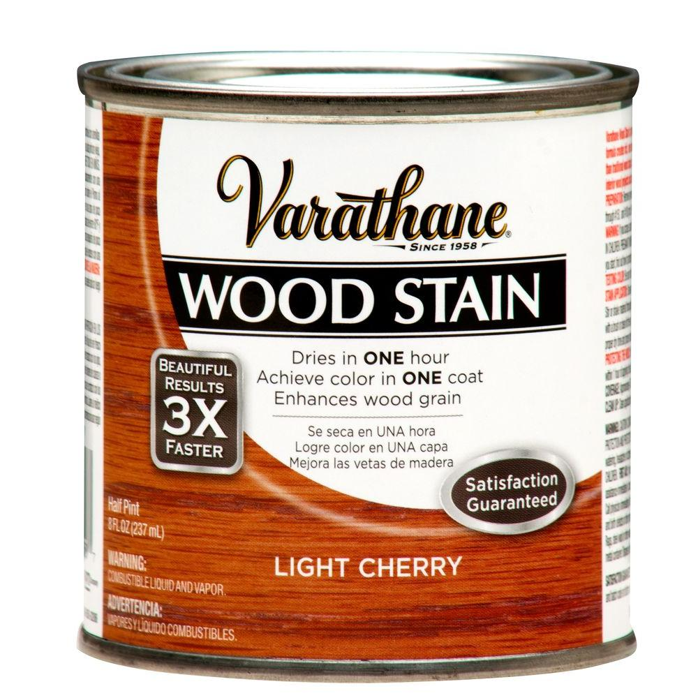 1/2-Pint Light Cherry Wood Stain