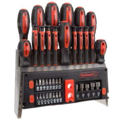 Screwdriver Set with Magnetic Tips (39-Piece)