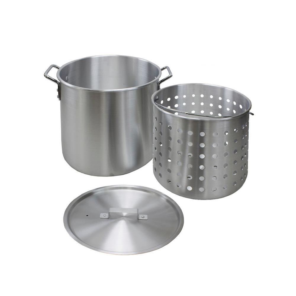 60 Qt. Aluminum Stock Pot