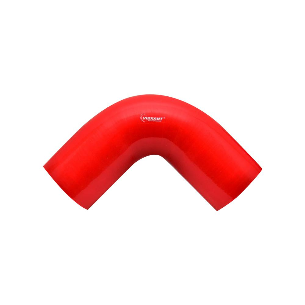 2745R Vibrant Red 90/° Silicone Elbow Vibrant Performance