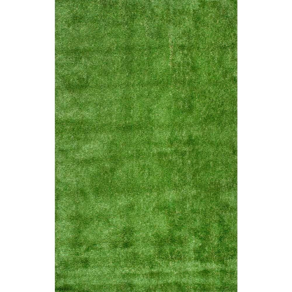 nuLOOM Artificial Grass Green 8 ft. x 10 ft. Indoor/Outdo...