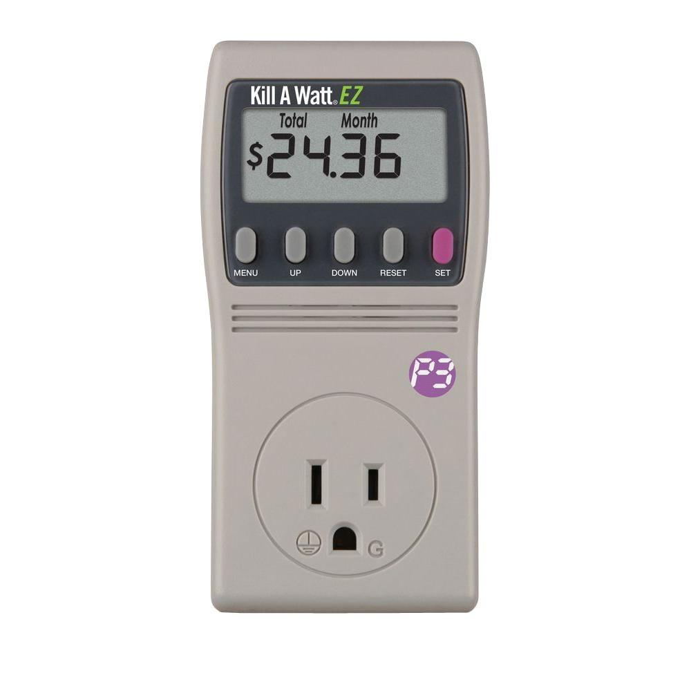 p3 international kill a watt ez meter p4460 the home depot. Black Bedroom Furniture Sets. Home Design Ideas