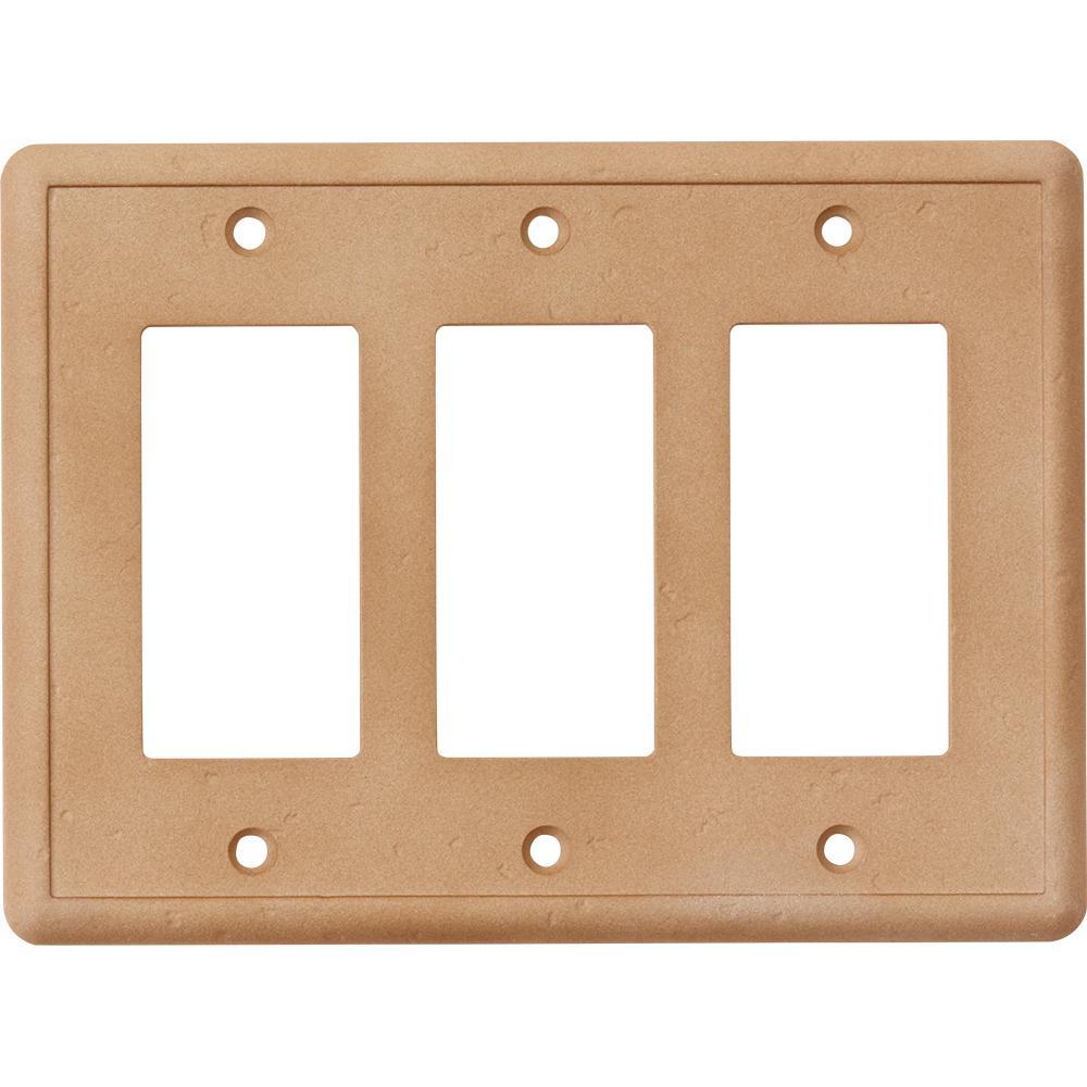 3gang gfci wall plate