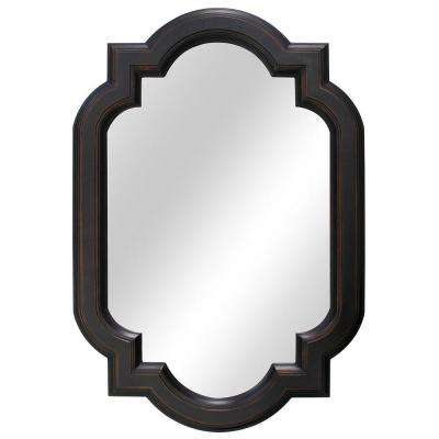 22 in. W x 32 in. L Framed Fog Free Wall Mirror in Oil Rubbed Bronze