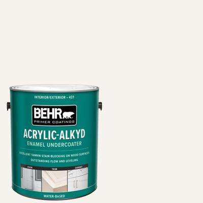 1 Gal. White Acrylic Alkyd Interior/Exterior Enamel Undercoated Primer