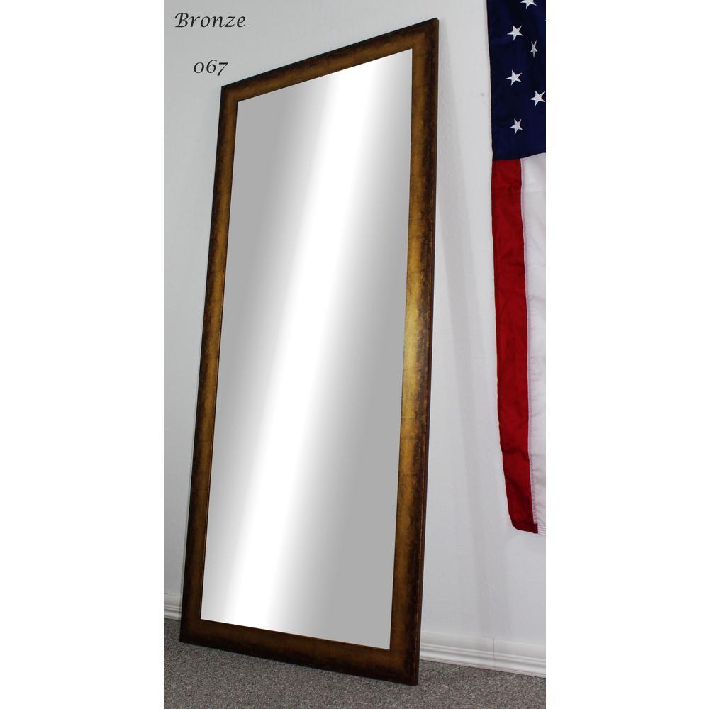 70.5 in. x 31.5 in. Bronze Full Body/Floor Length Vanity Mirror