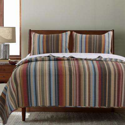 Durango 3-Piece Multi King Quilt Set
