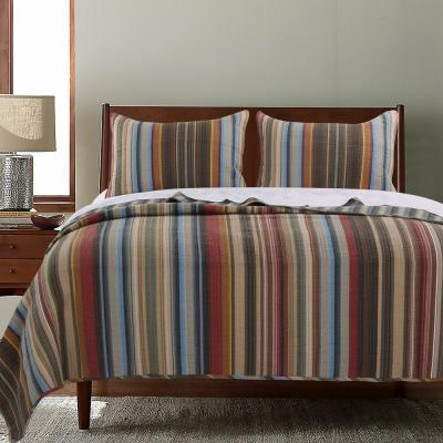 Durango 3-Piece Multi Full and Queen Quilt Set