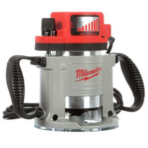 Milwaukee 3 1 2 Max Hp Fixed Base Production Router 5625