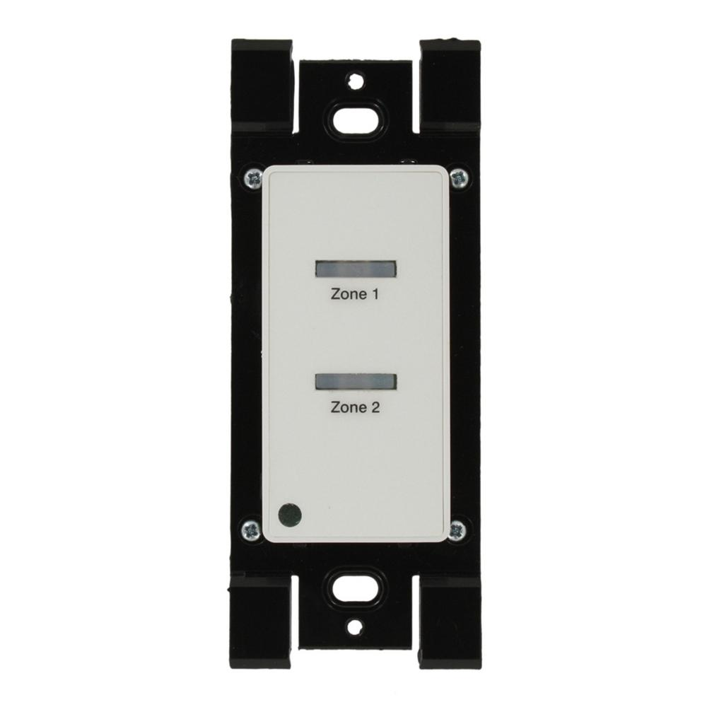 Leviton Low-Voltage Pushbutton Station, 1-Gang, 2 Button-On/Off ...