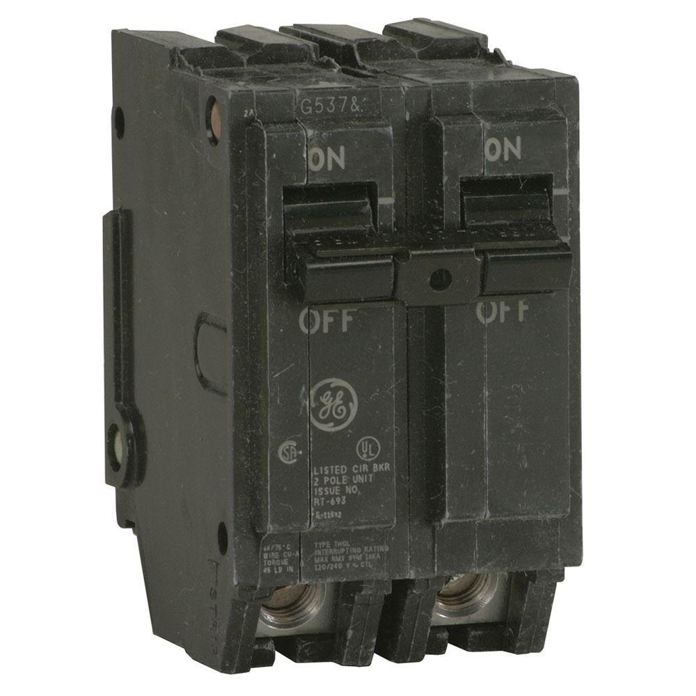 GE Q-Line 80 Amp 2 in. Double Pole Circuit Breaker