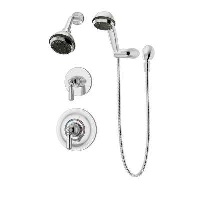 shower bath faucet combo. Allura 3 Spray Hand Shower and Head Combo Kit in Chrome  Valve Included Showerhead Faucet Combos Showerheads Faucets The