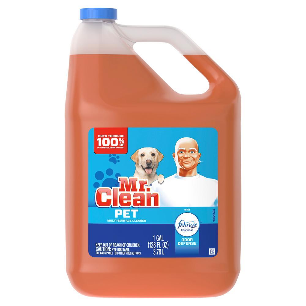 Mr. Clean 128 oz. Febreze Scent Pet Odor Defense Multi-Surface Cleaner