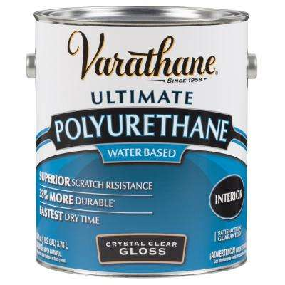 1 gal. Clear Gloss Water-Based Interior Polyurethane