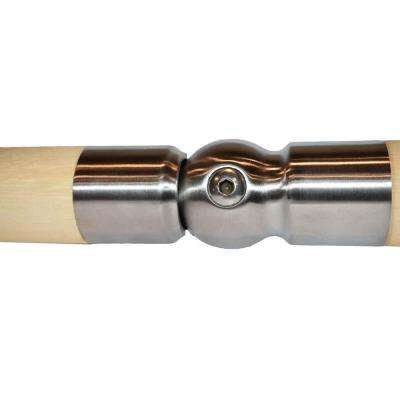 Wood Inox Stainless Steel Pivotal Handrail Connector