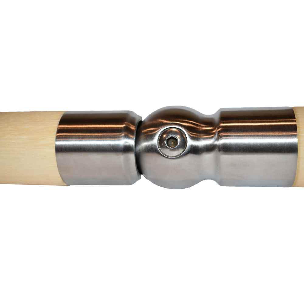 IAM Design Wood Inox Stainless Steel Pivotal Handrail ...