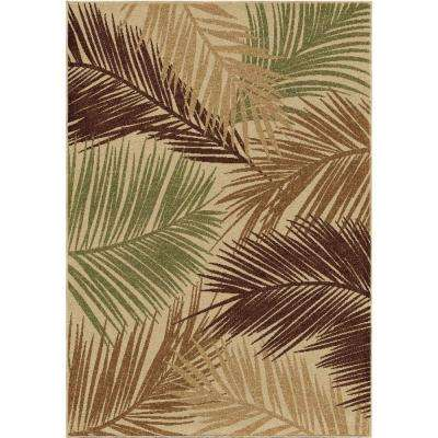 Island Breeze Multi 5 ft. x 8 ft. Indoor/Outdoor Area Rug