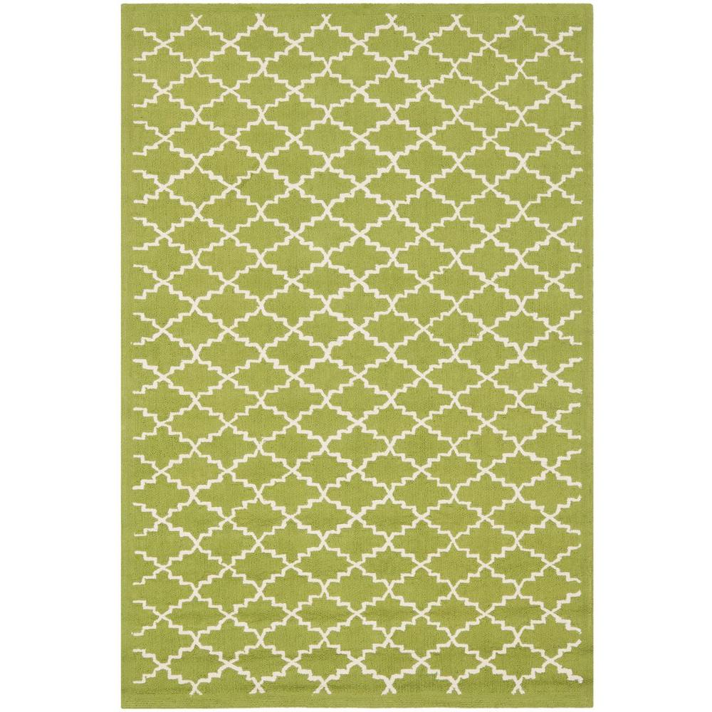 Safavieh Newport Olive/Ivory 3 ft. 9 in. x 5 ft. 9 in. Area Rug