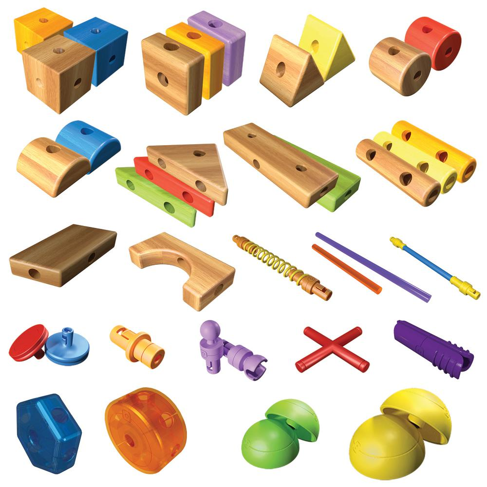 Smarty Parts Toy Architect Set (200-Pieces)-BLIP39330 - The Home Depot