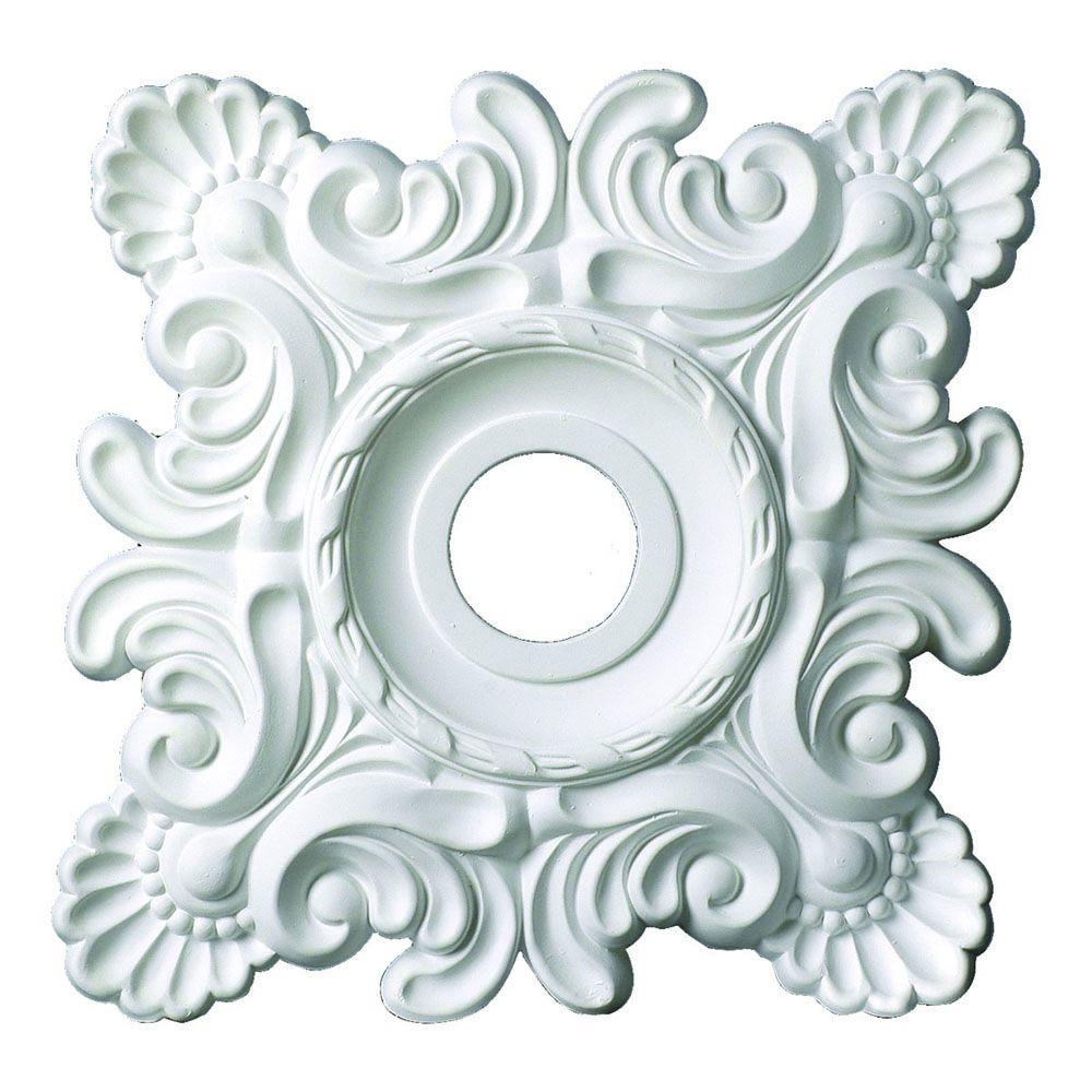 18 in. x 18 in. x 1-5/8 in. Shell And French