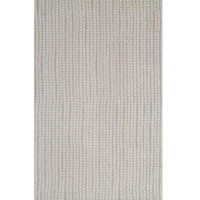 Art Craft Collection Beige 5 ft. x 8 ft. Area Rug