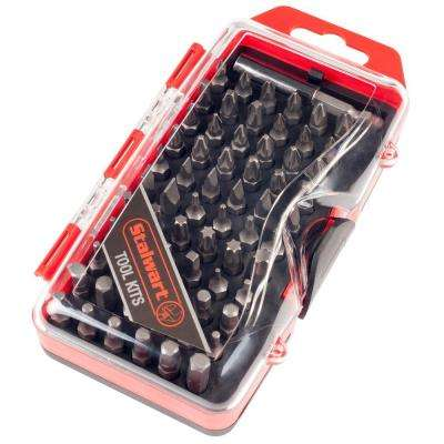 Ultimate Compact Screwdriver Bit Set (67-Piece)