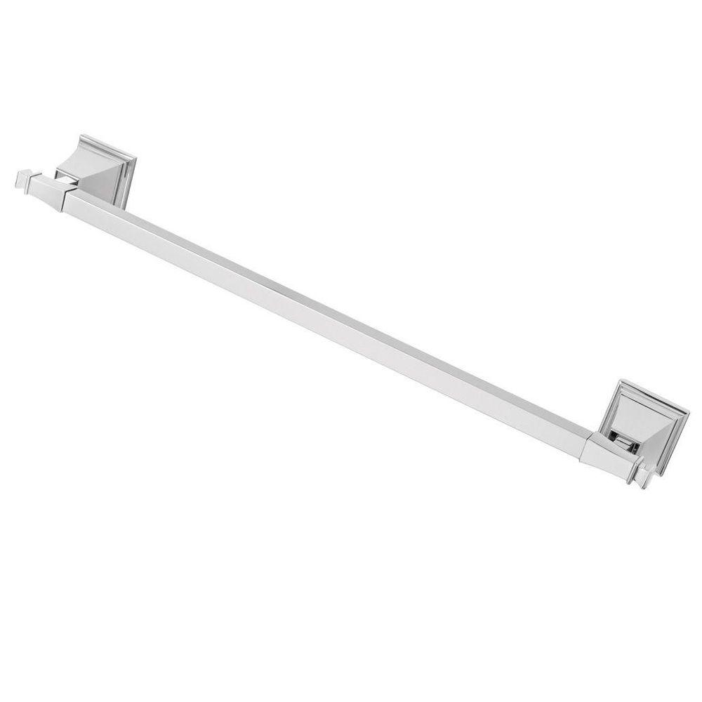 Speakman Rainier 24 in. Towel Bar in Polished Chrome-SA-1307 - The ...