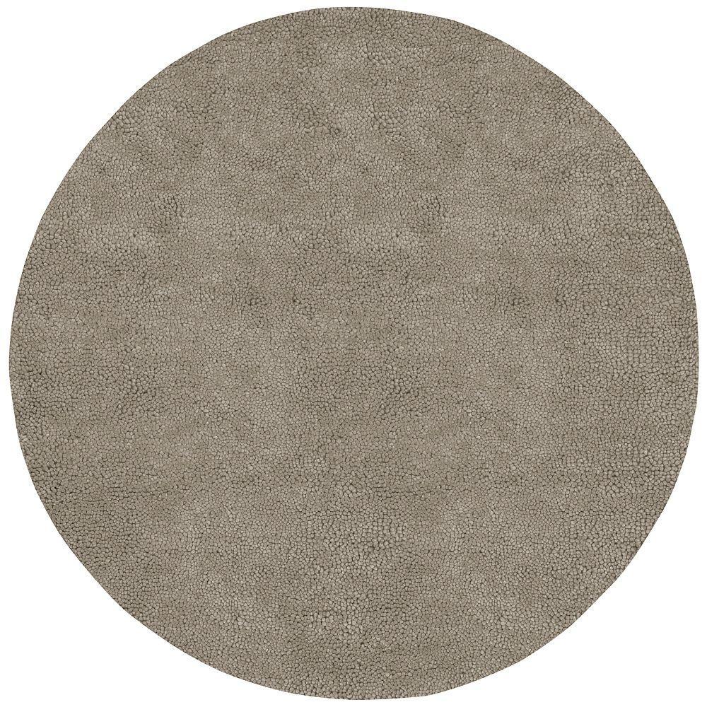 Artistic Weavers Cambridge Grey 8 Ft X 8 Ft Round Area